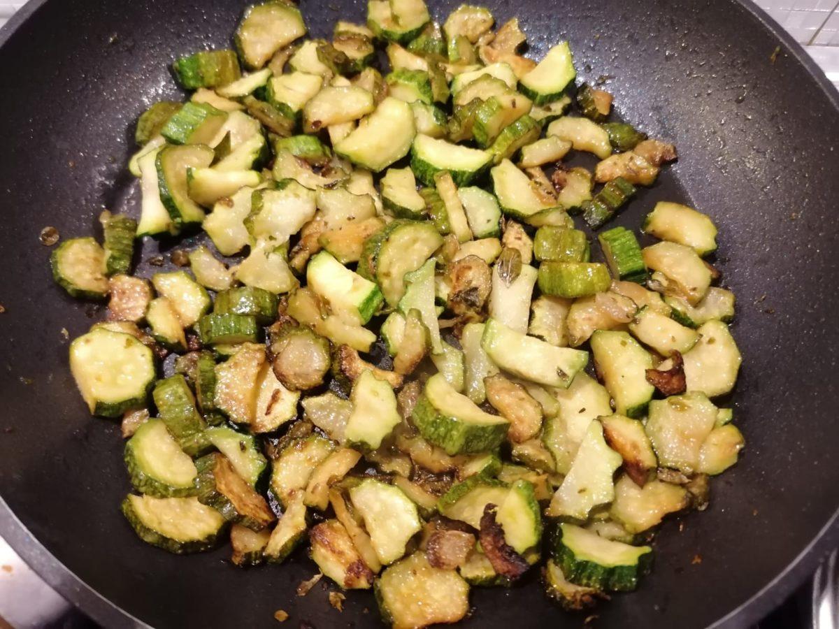 Zucchine a funghetto
